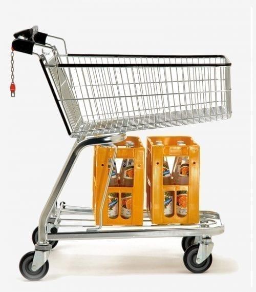 Shopping Trolley BXM Shopper Security 100L