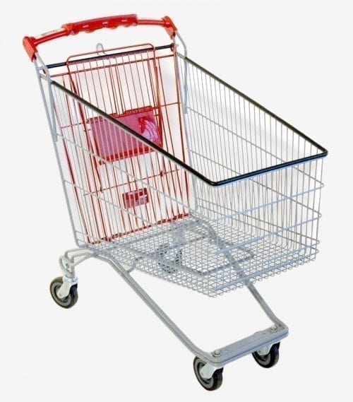 Shopping Trolley Cadergo 105L-210L Security