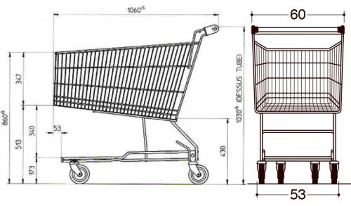BXM Standard 180L Drawing