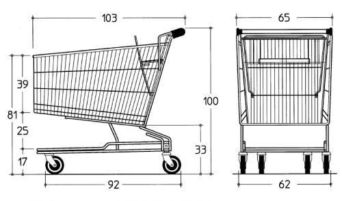 Drawing Cadergo Standard 215L
