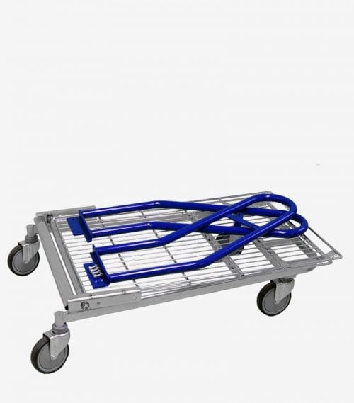 Bulk trolley folded