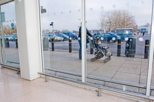 CartStop SS- Stainless Steel Protection System - Sainsbury 2