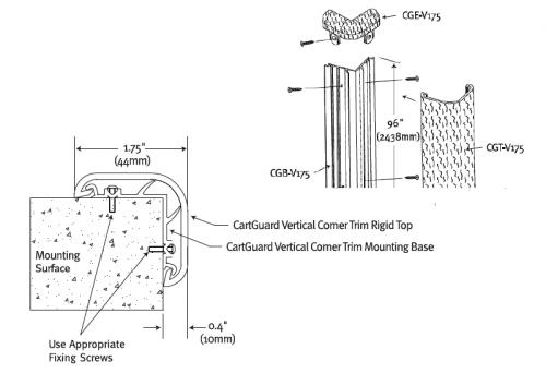 Drawing Cartguard vertical