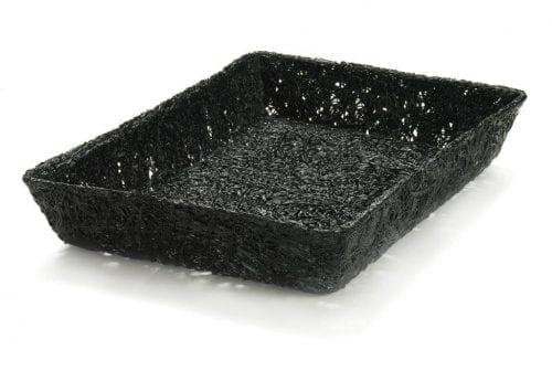 Delikorg från TraiTech i svart.