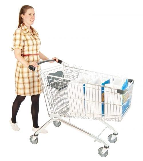 shopping trolley scandinavia 220 l