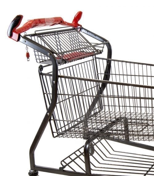 Shopping trolley Scan 4 140Lwith anthracite QPC-lacquer