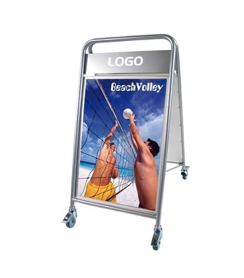 Sandwich board Expo sign
