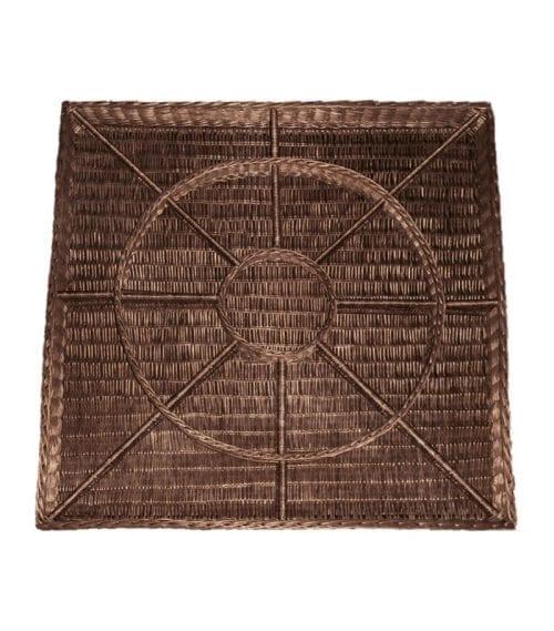 Naturkorgar Hansen - Exponeringskorg med 16 fack, mörkbrun - Exact i Butik