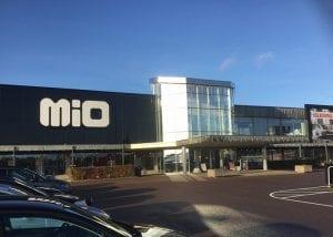 Lätta kundvagnar Polycart på Mio i Västra Frölunda