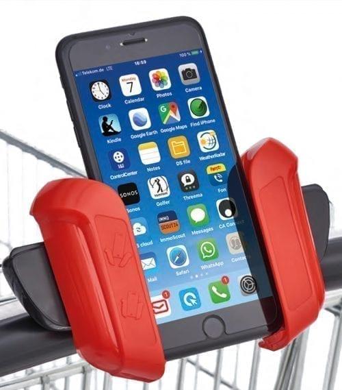 smartphone holder livetec easy for trolley