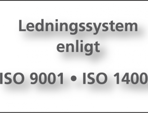 ISO-certifiering på gång