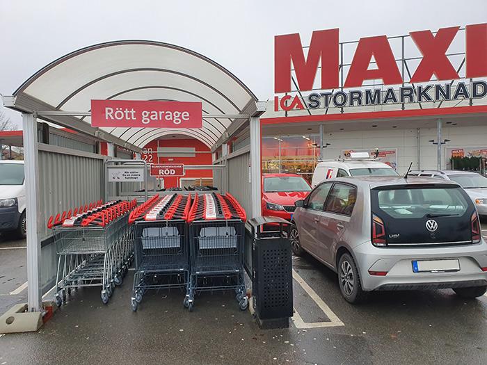 Maxi Vetlanda - Rött garage