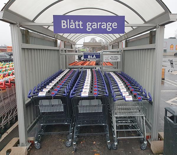 Maxi Vetlanda - blått garage