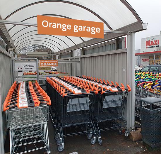 Maxi Vetlanda - Orange garage